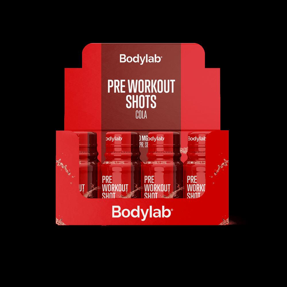 Billede af Bodylab Pre Workout Shot (12 x 60 ml) - Cola