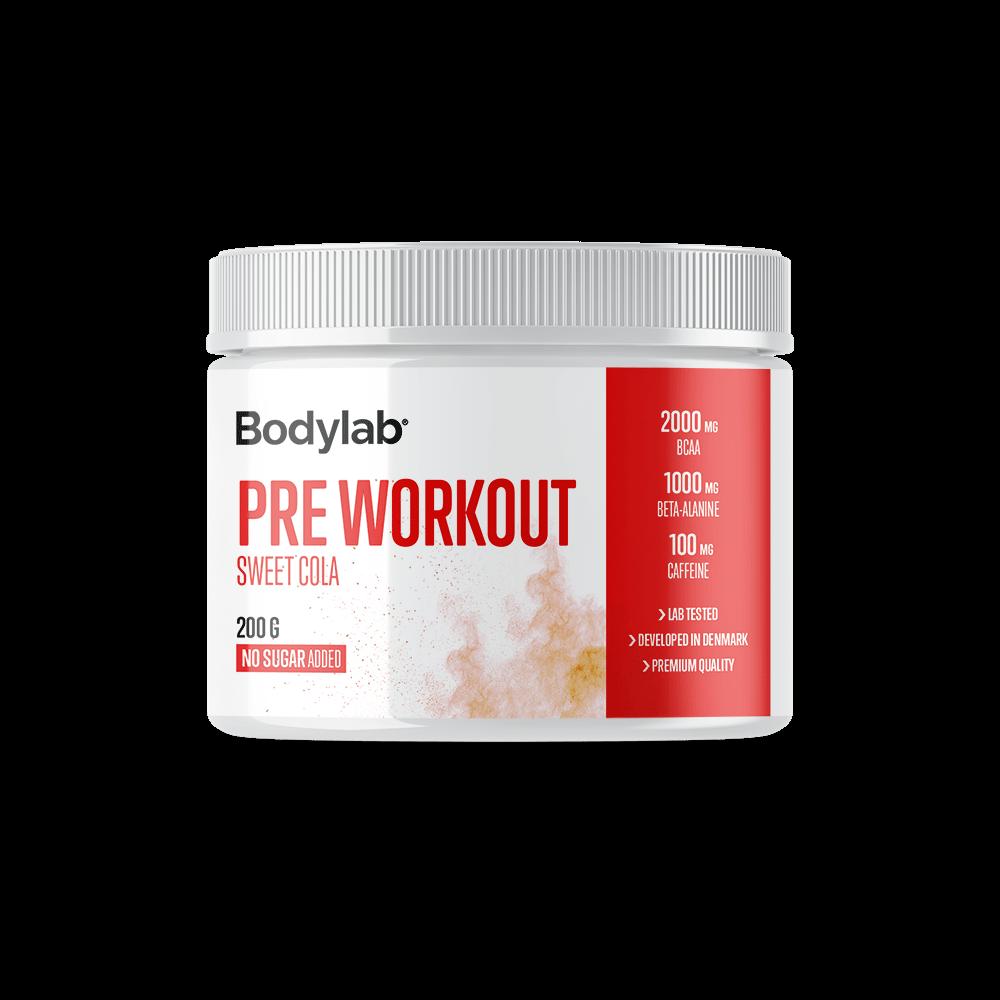 Billede af Bodylab Pre Workout (200 g) - Sweet Cola