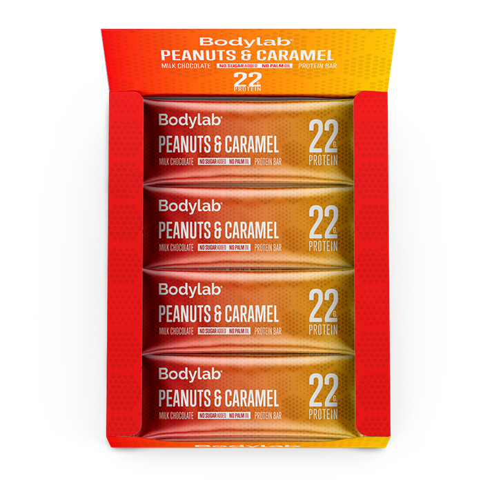 Protein Peanuts and Caramel Bar