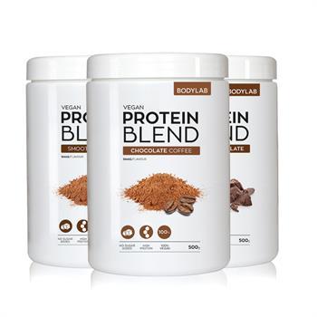 N/A Bodylab vegan protein blend (3x500 g) på bodylab