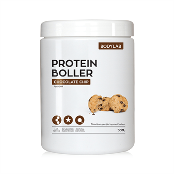 Image of   Bodylab Proteinboller (500 g) - Chocolate Chip