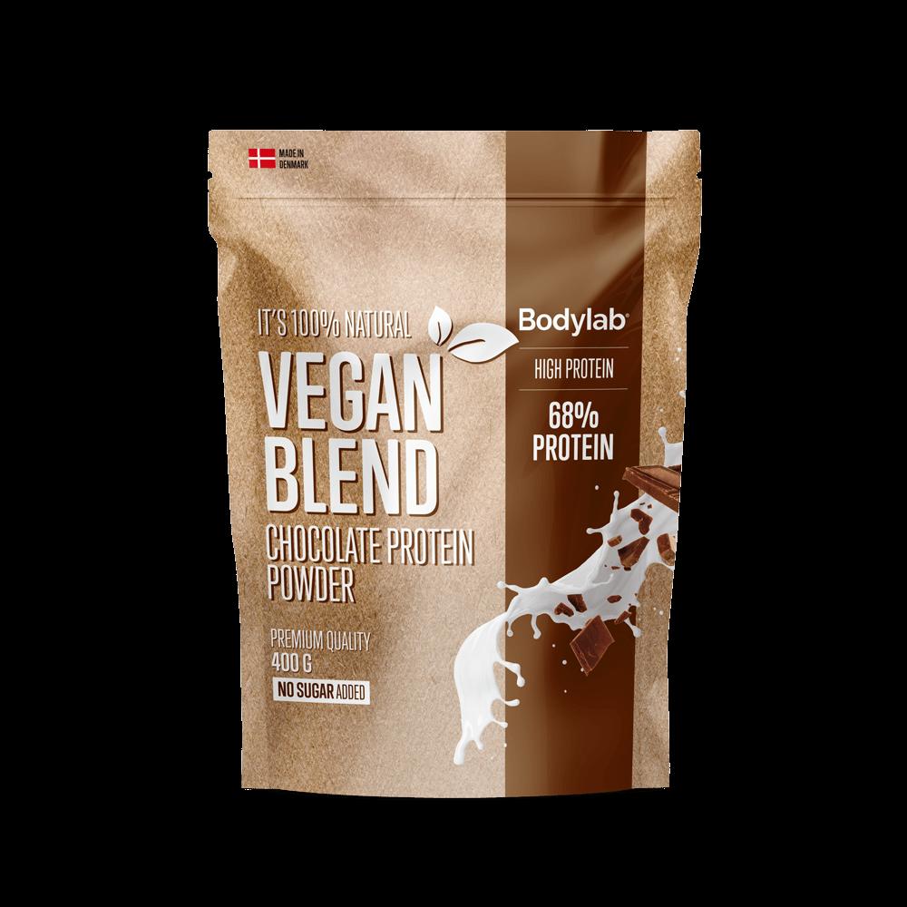 Billede af Bodylab Vegan Protein Blend (400 g) - Chocolate