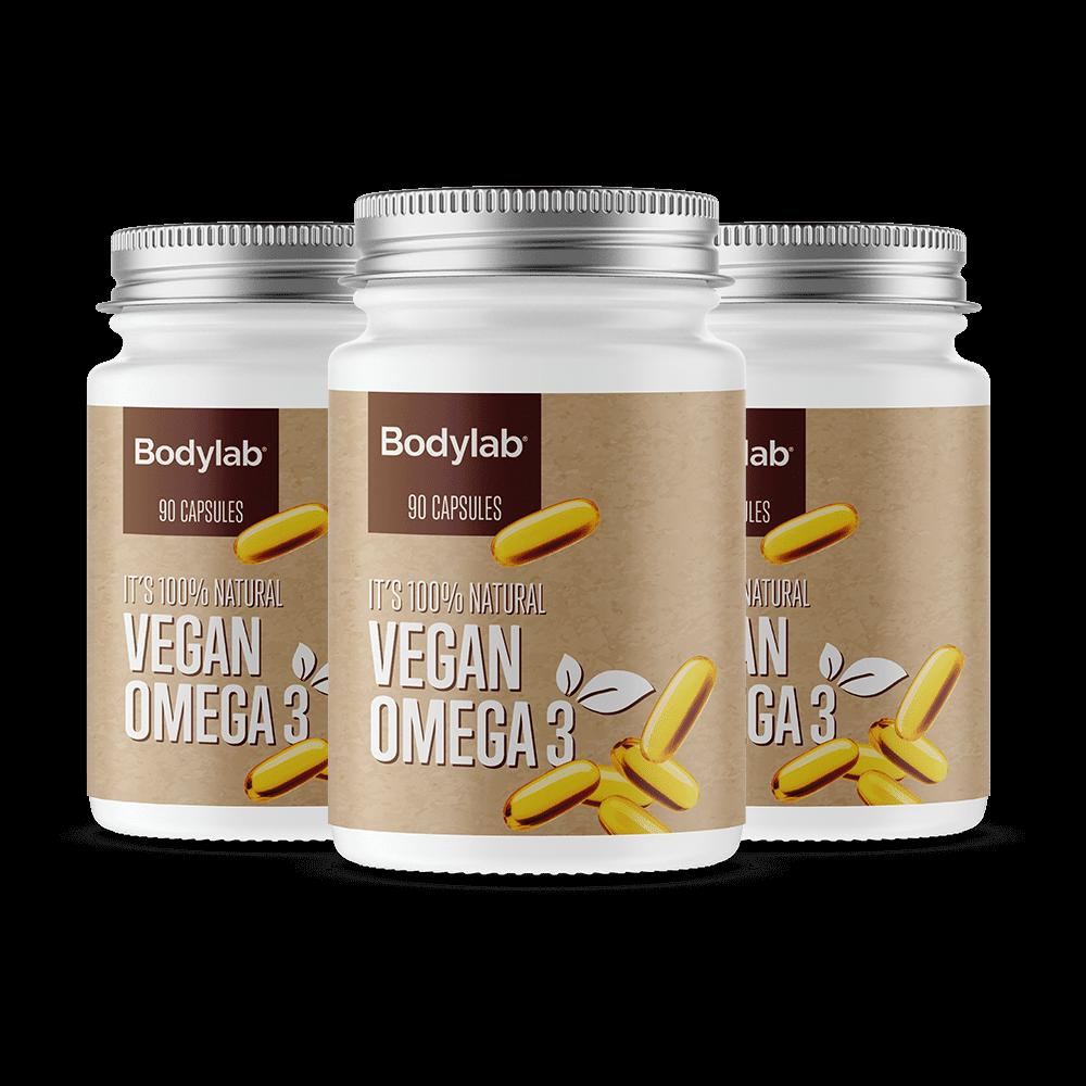 Bodylab Vegan Omega 3 (90 stk)