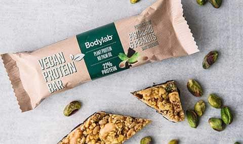 Vegan Protein Bar - Pistachio & Peanuts