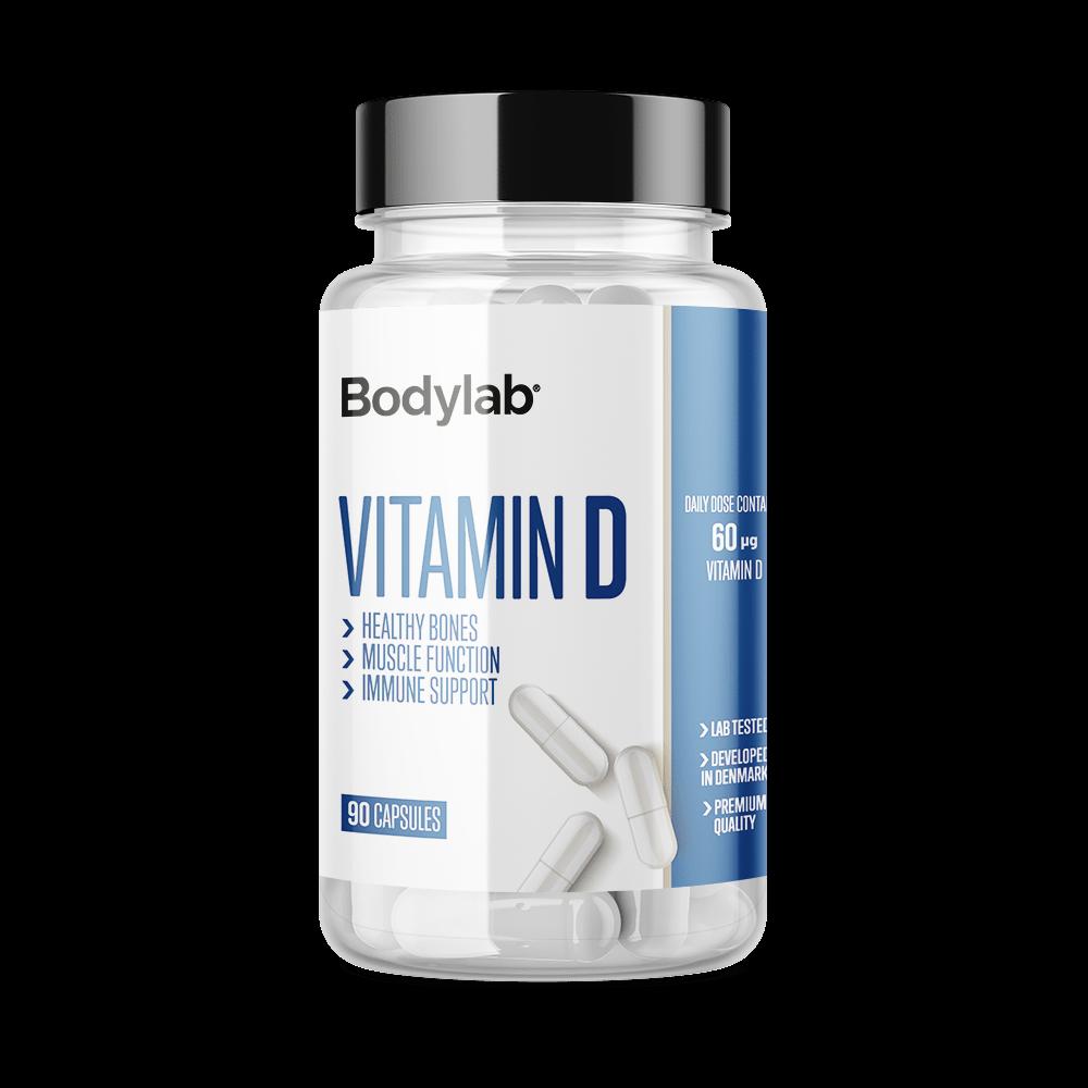 Køb Bodylab Vitamin D (90 stk)