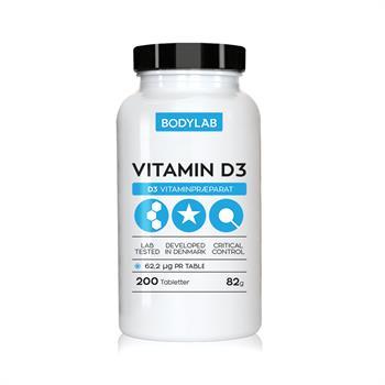 N/A – Bodylab d vitamin (200 stk) fra bodylab