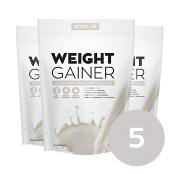 N/A Bodylab weight gainer (5x1,5 kg) på bodylab