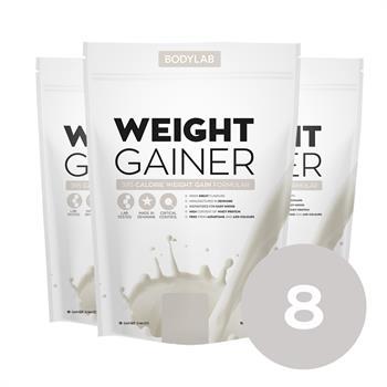 N/A – Bodylab weight gainer (8x1,5 kg) fra bodylab