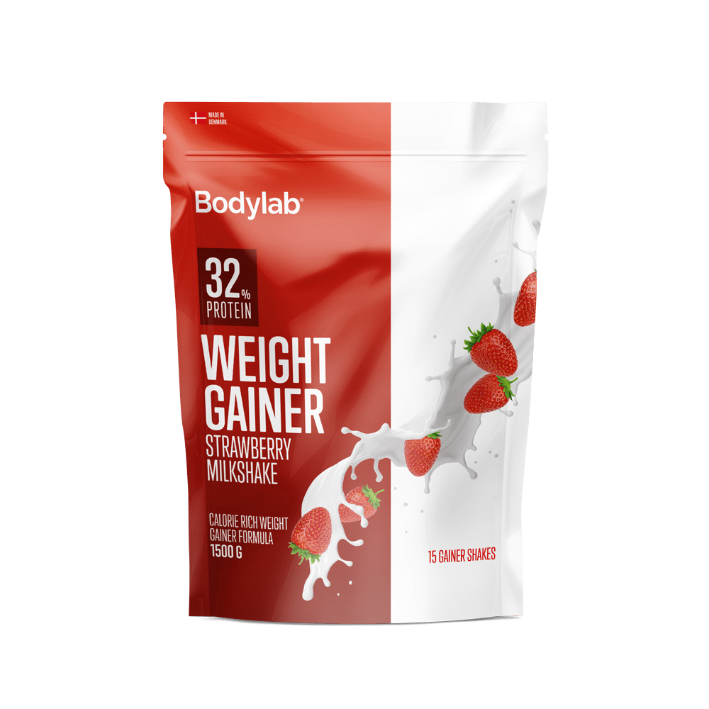 Image of   Bodylab Weight Gainer (1,5 kg) - Strawberry Milkshake