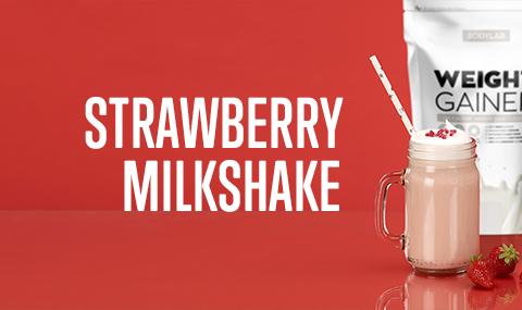 Bodylab Weight Gainer - Strawberry Milkshake
