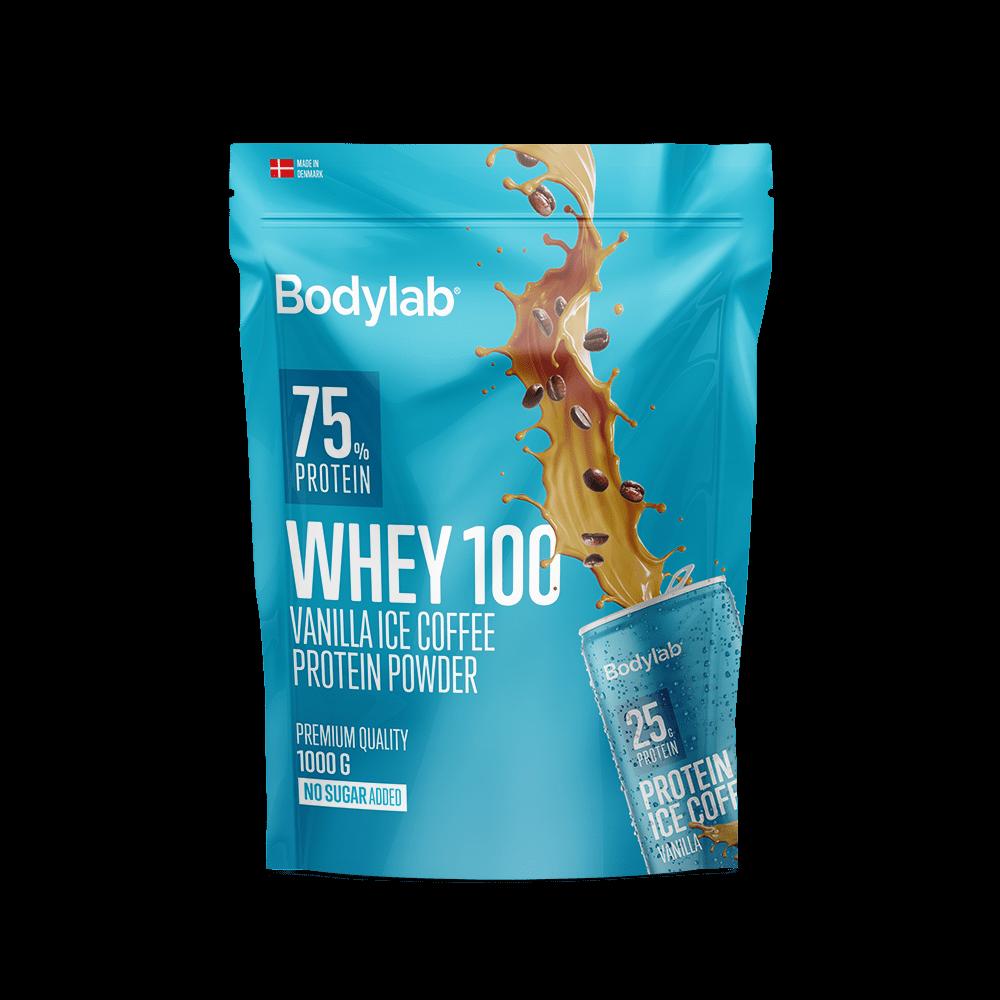 Billede af Bodylab Whey 100 (1 kg) - Vanilla Ice Coffee