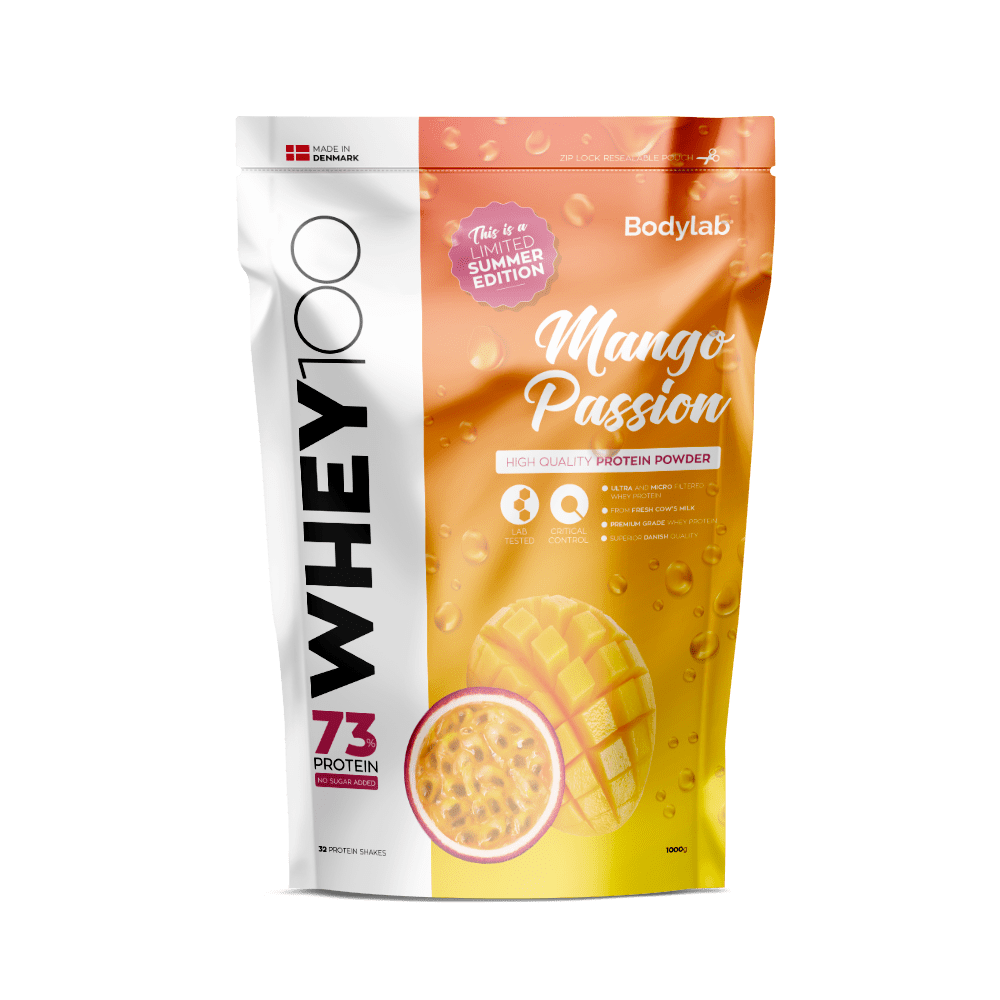 Image of   Bodylab Whey 100 (1 kg) - Mango Passion