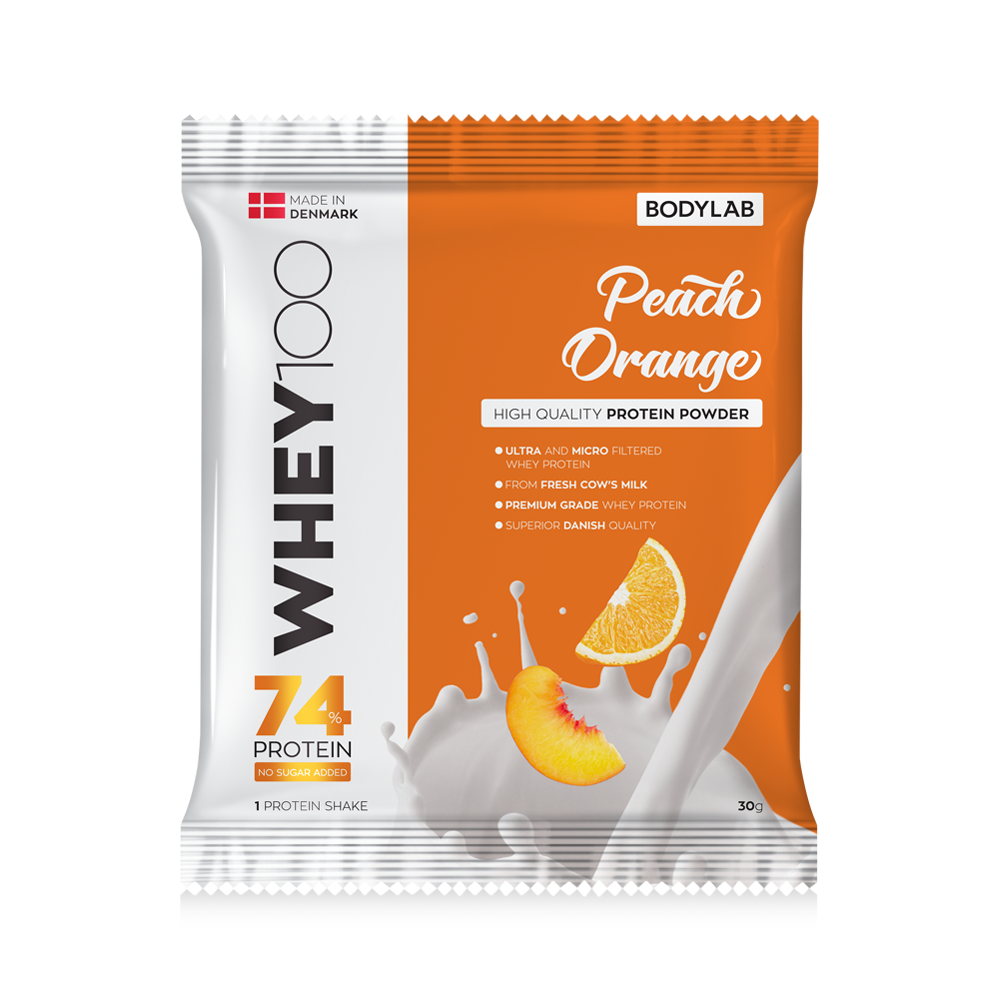 Whey 100 - Peach/Orange