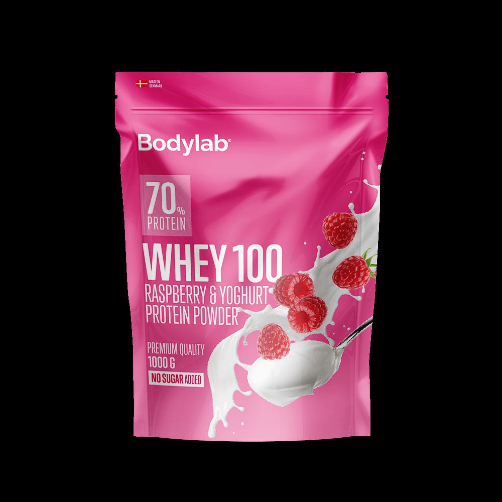 Billede af Bodylab Whey 100 (1 kg) - Raspberry & Yoghurt