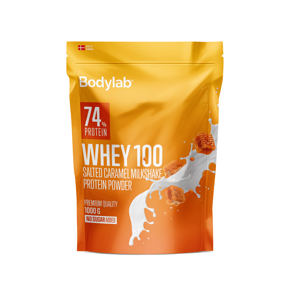 Image of   Bodylab Whey 100 (1 kg) - Salted Caramel Milkshake