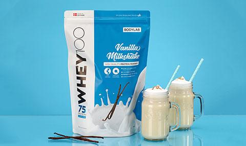 Whey 100 Vanilla Milkshake