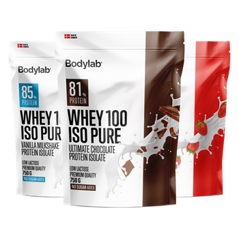 Bodylab Whey 100 ISO Pure sortiment