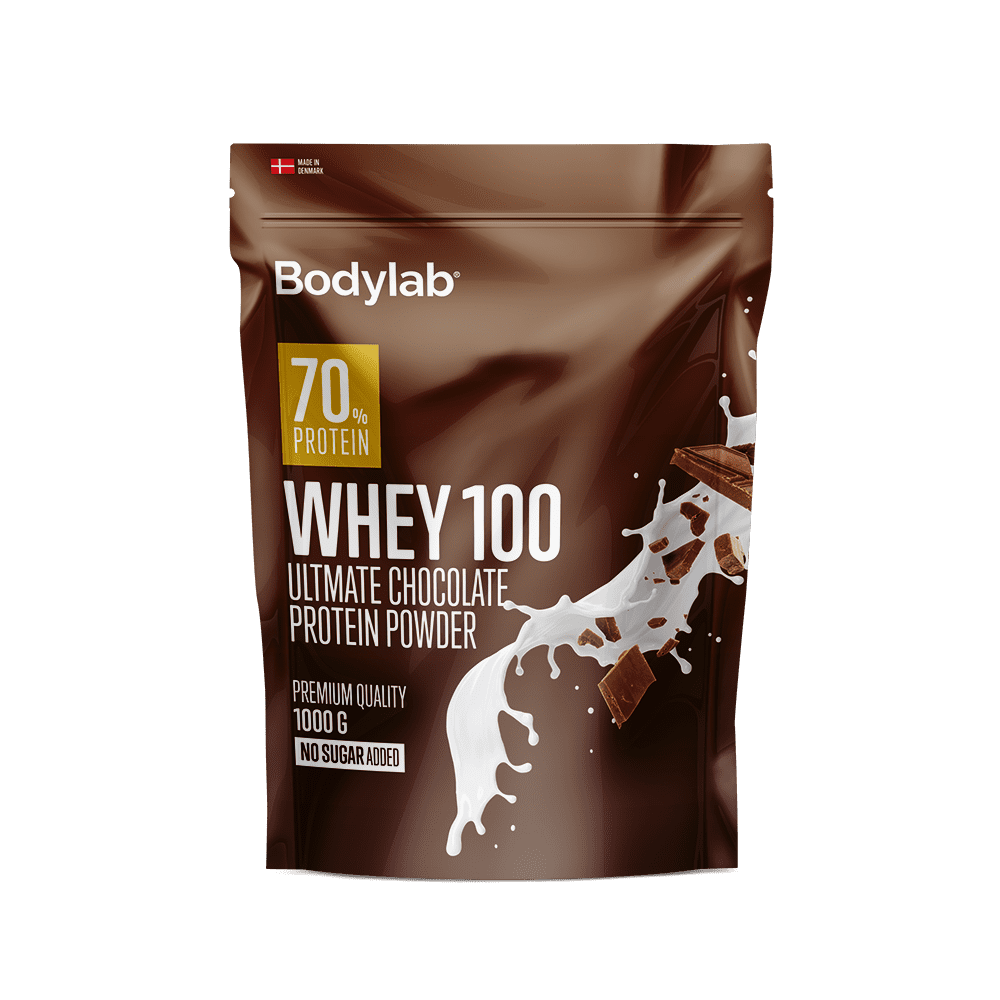 Image of   Bodylab Whey 100 (1 kg) - Ultimate Chocolate