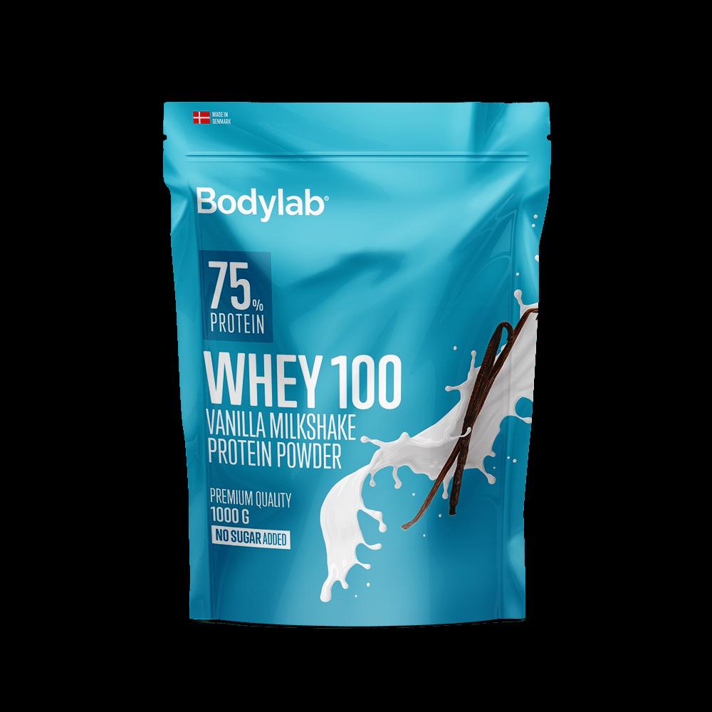 Billede af Bodylab Whey 100 (1 kg) - Vanilla Milkshake