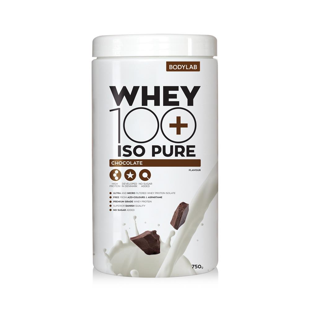Image of   Bodylab Whey 100 ISO Pure (750 g) - Chocolate