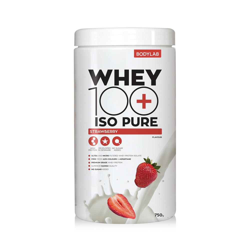 Image of   Bodylab Whey 100 ISO Pure (750 g) - Strawberry