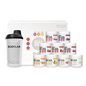 N/A – Bcaa mix box (9x50 g) fra bodylab